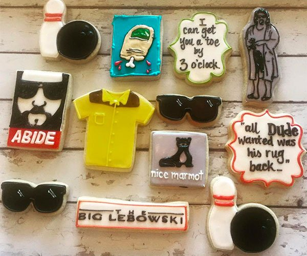 Big Lebowski Cookie Set