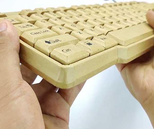 Cardboard Computer Keyboard