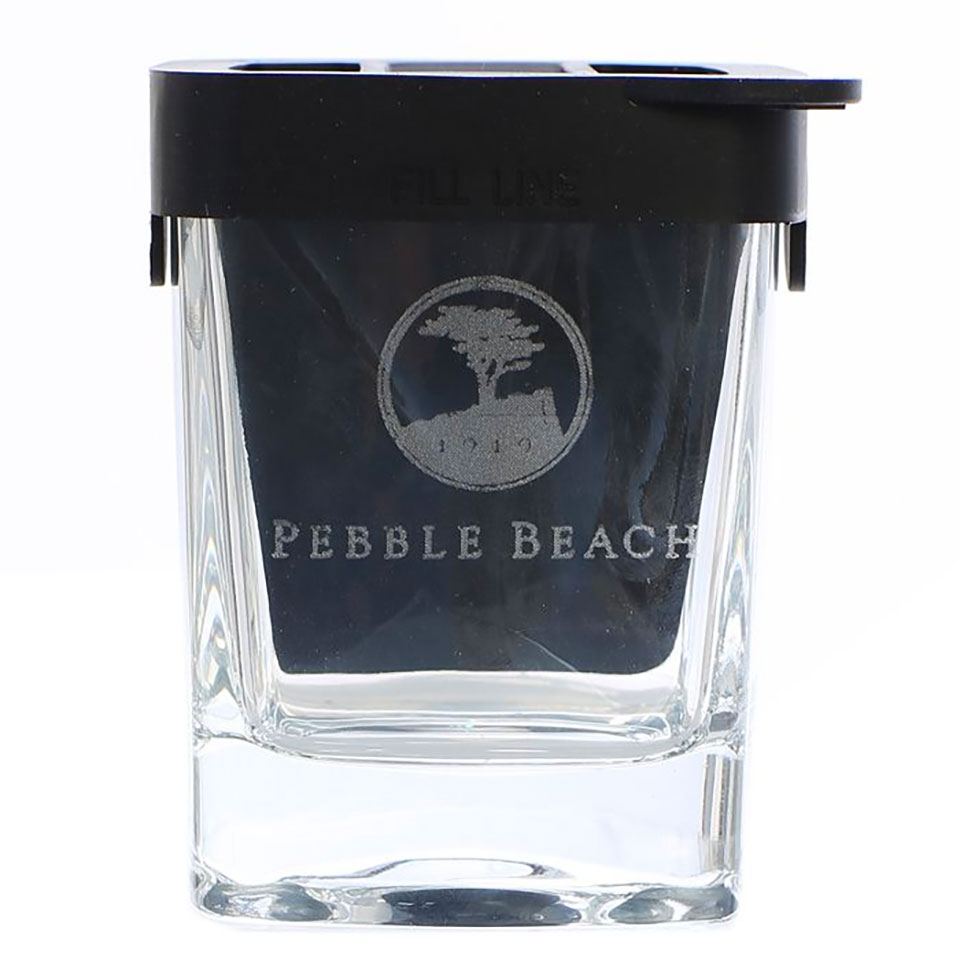 Pebble Beach Wedge Rocks Glass