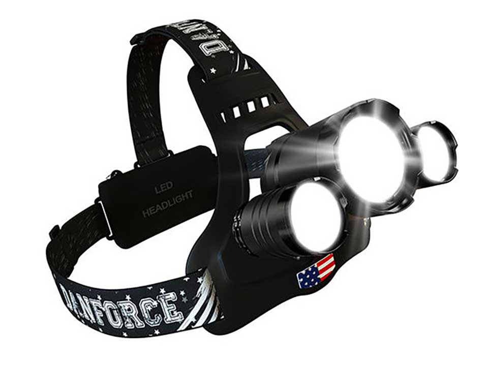 DanForce Bold Triple Headlamp