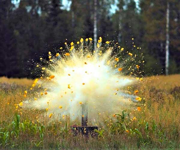 Exploding Pumpkins