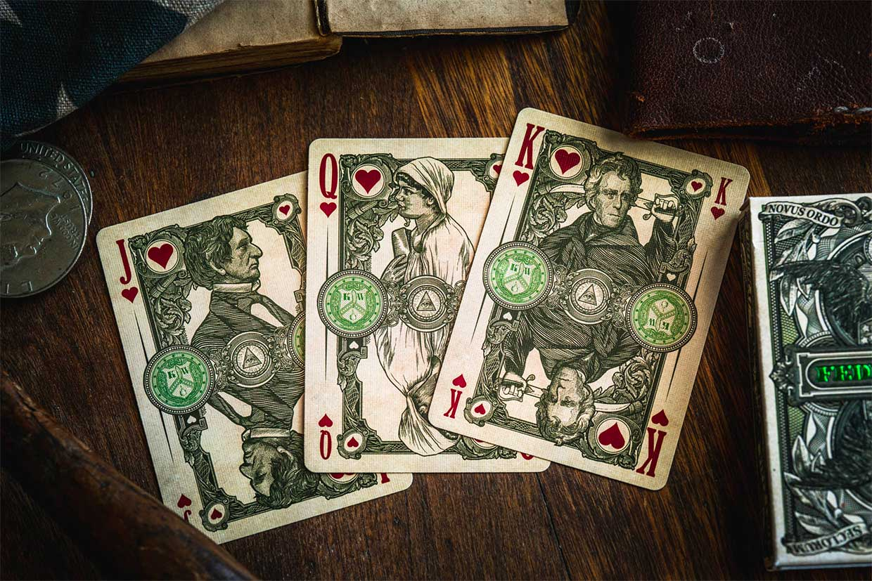 Federal 52 2nd Ed. Playing Cards