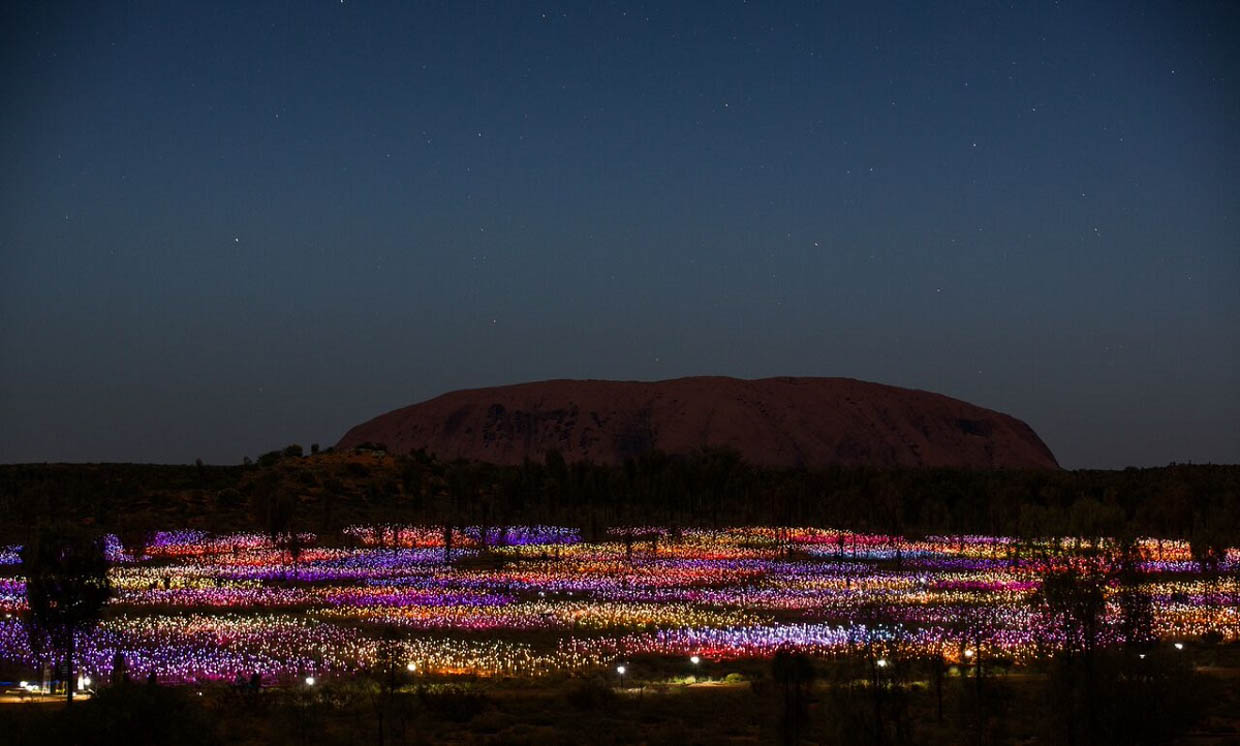 Field of Light, Australia
