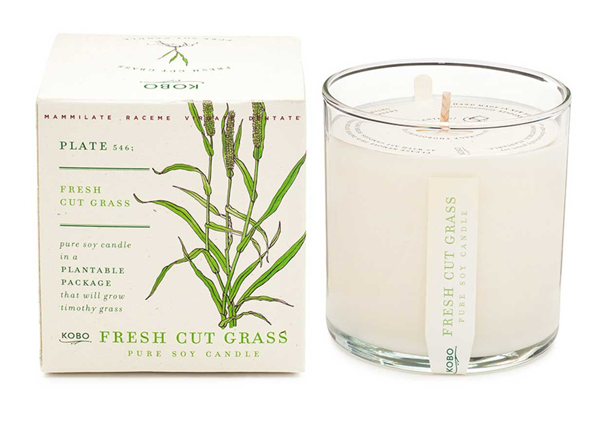 Kobo Fresh Cut Grass Candle