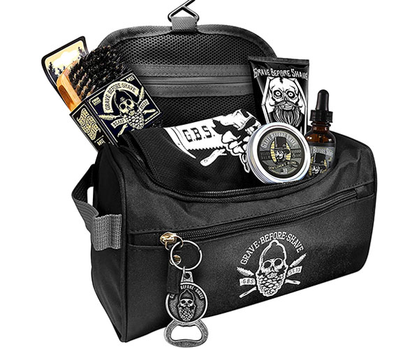 Grave Before Shave Travel Set