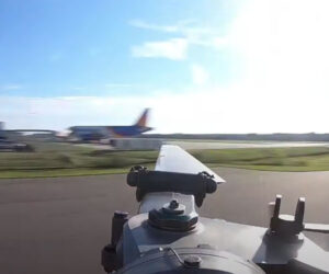 Slow-mo Helicopter Blade POV