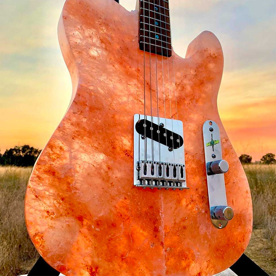 Making a Guitar from Salt