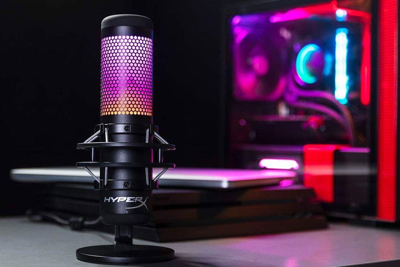 HyperX Quadcast S RGB Microphone