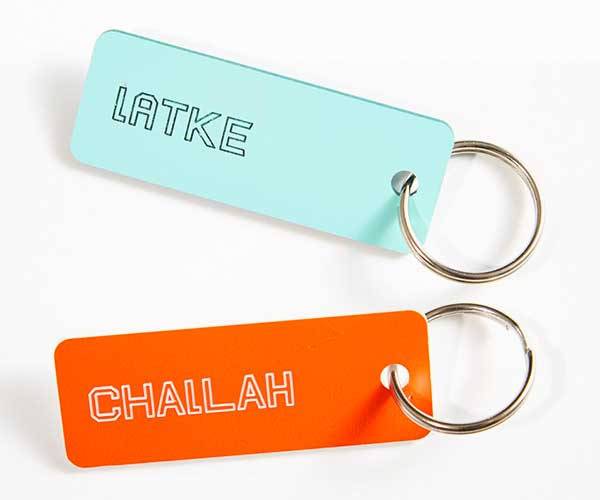 Jewish Food Society Keychains