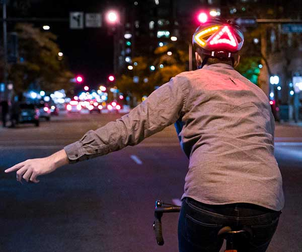 Lumos Smart LED Bike Helmet