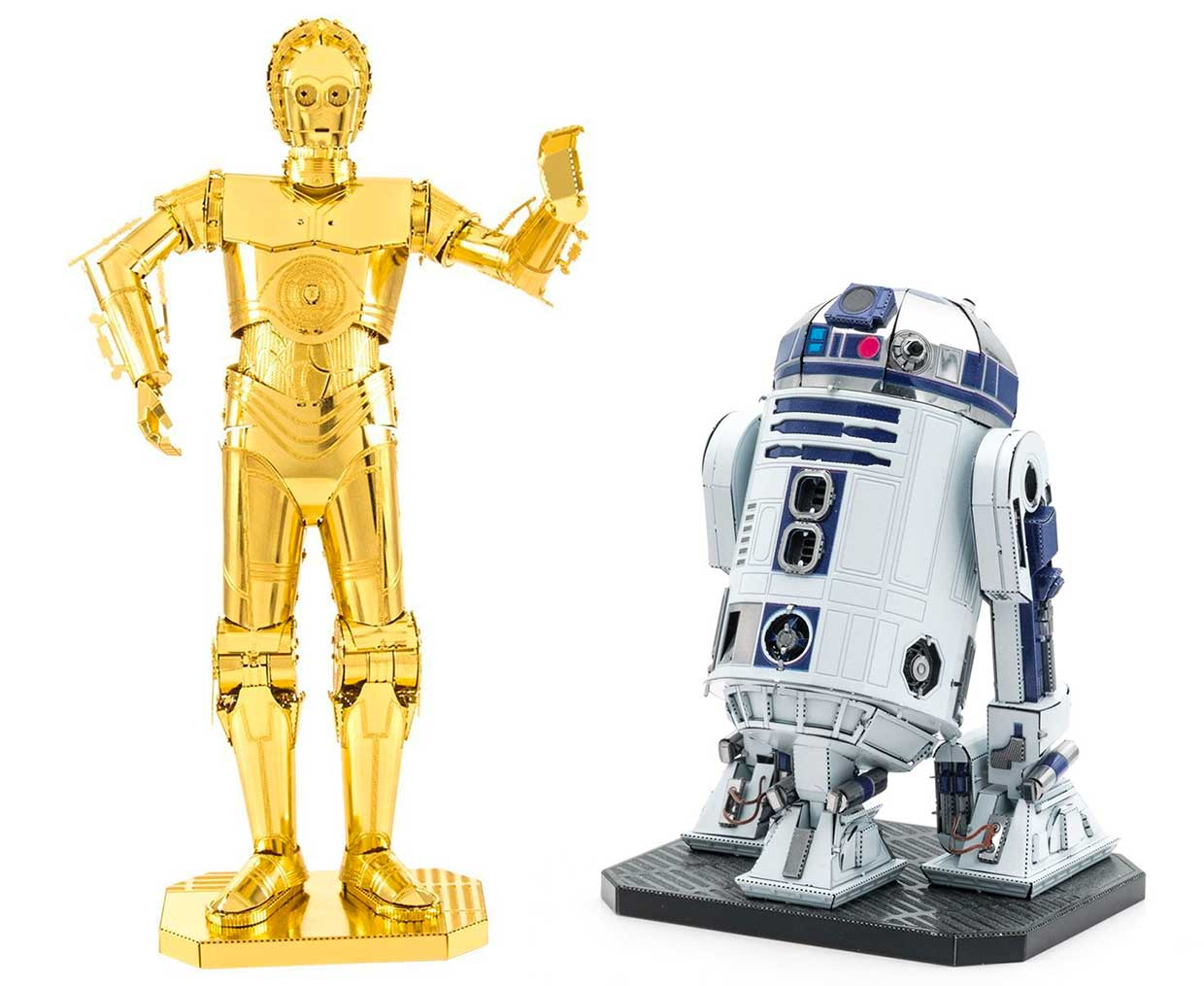 Metal Earth Star Wars Figures