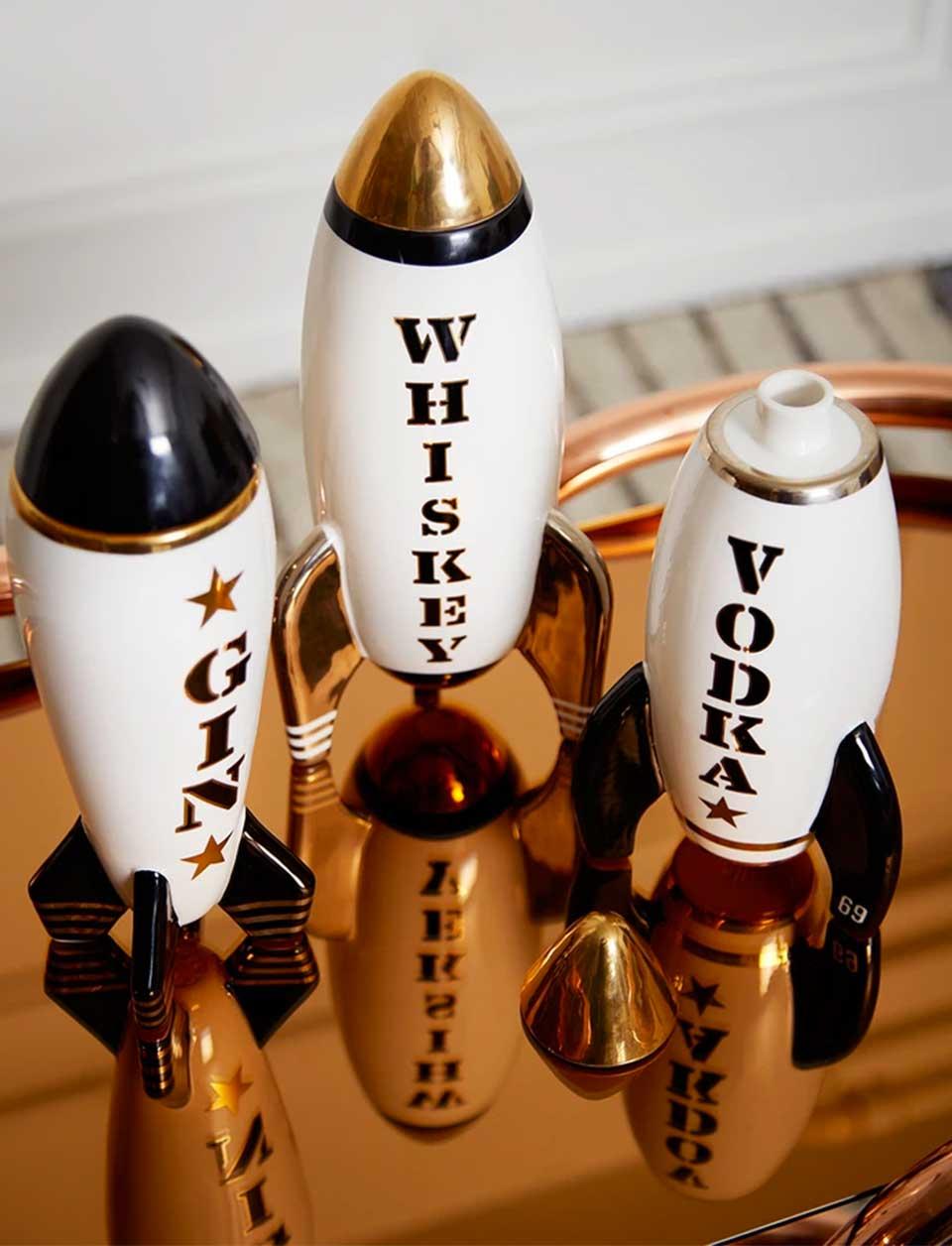 Rocket Drink Decanters