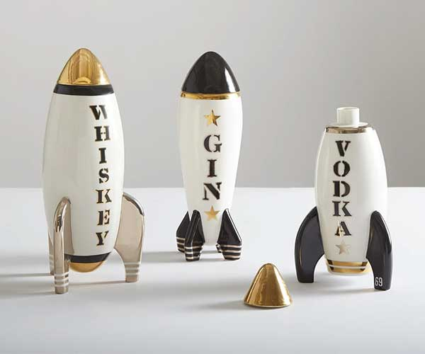 Rocket Drink Decanters