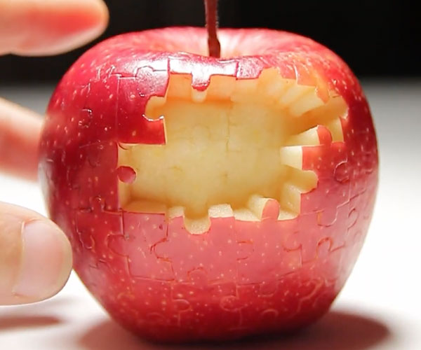 A Puzzling Apple