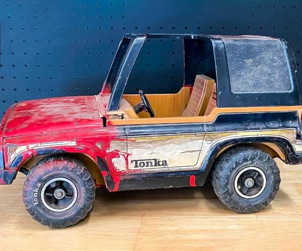 Rusty Tonka to R/C Tonka