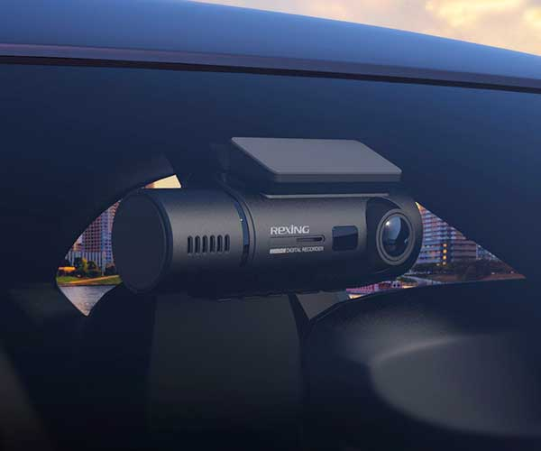 Rexing Dual Dash Cam