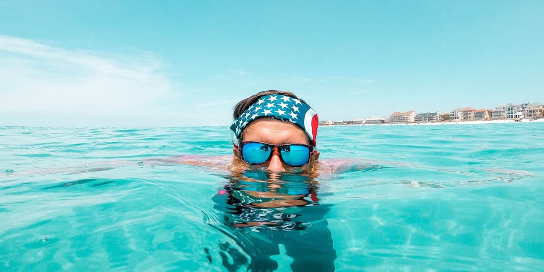 Rheos Nylon Optic Sunglasses