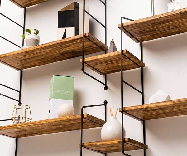 SMILE Chopstick Shelving