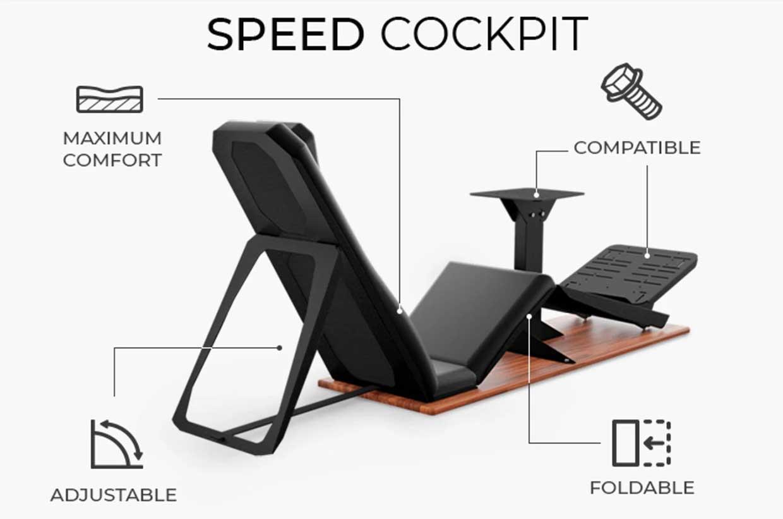 Speed Cockpit Racing Chair