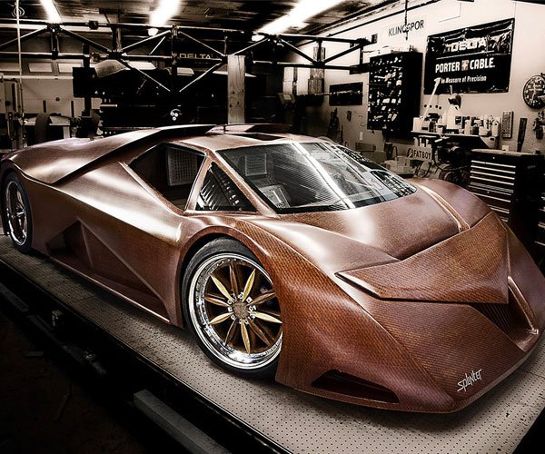 The Wooden Supercar