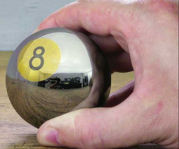 Making a Stainless Steel 8-Ball