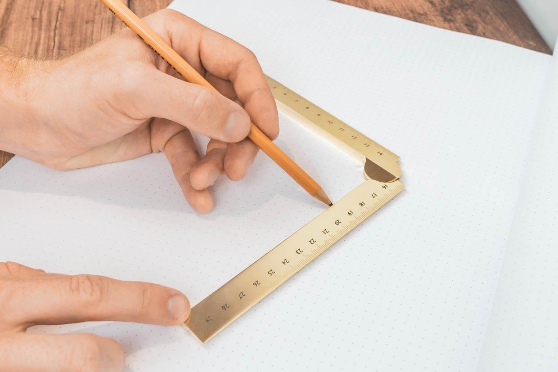 Stria Folding Ruler