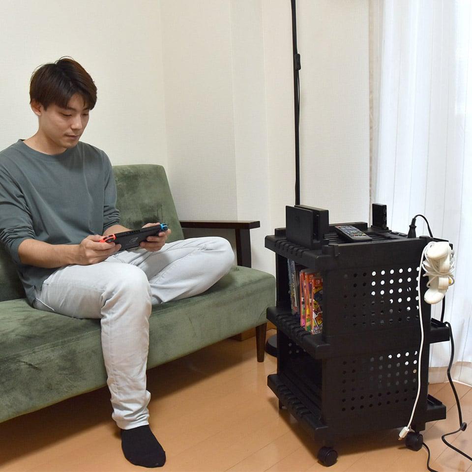 Gaming Residence Cart