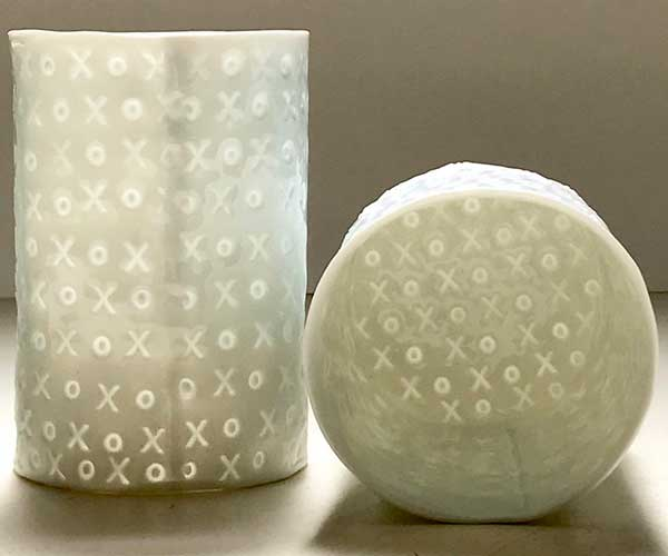 Translucent Text Porcelain