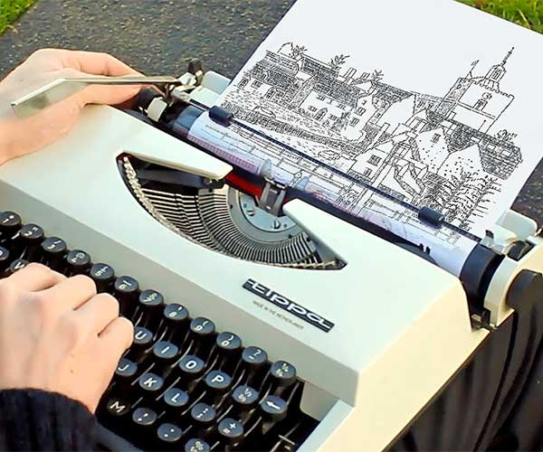 Making Typewriter Art