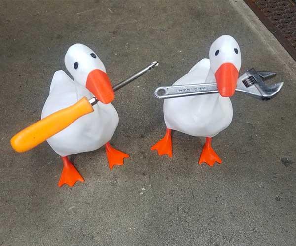 Untitled Goose Tool Holder