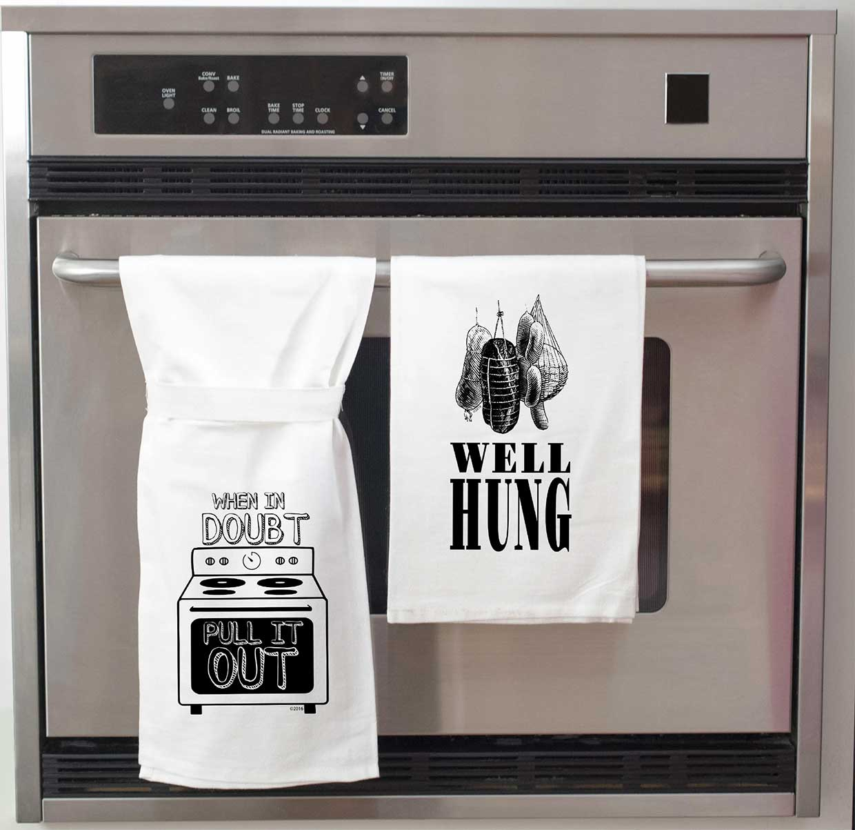 When in Doubt Kitchen Towel