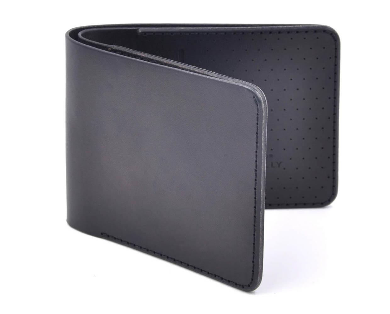 Laser-Cut Leather Wallets