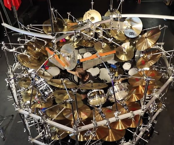 World's Largest Drum Kit