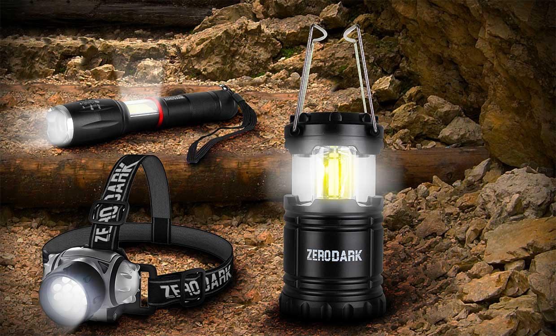 ZeroDark 3-Piece Light Set