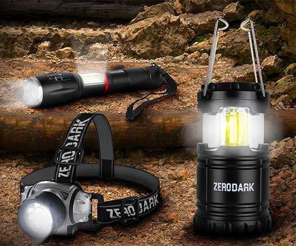 ZeroDark 3-Piece Light Set