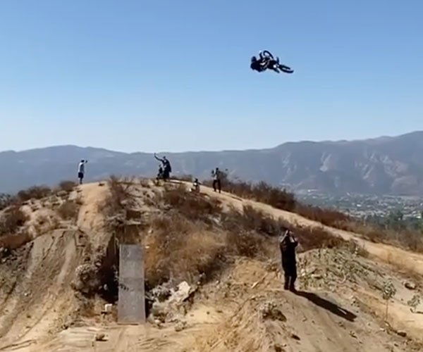 200-Foot Motorcycle Jump