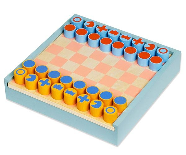 2-in-1 Chess + Checkers Set