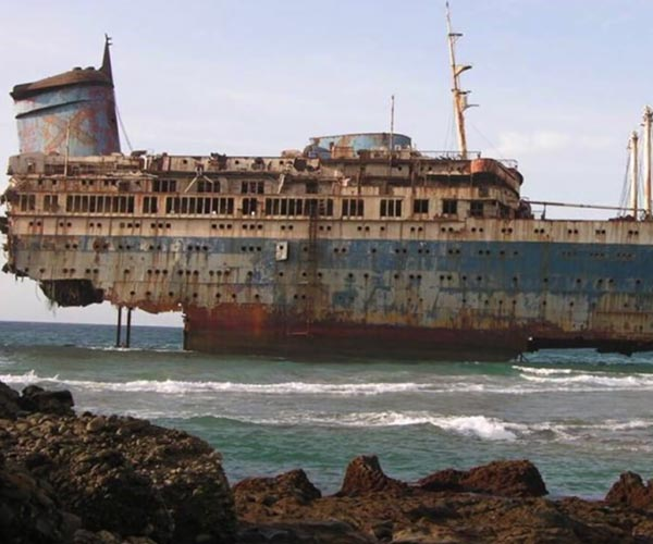 Abandoned: S.S America