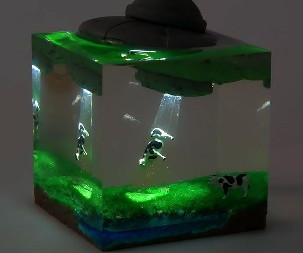 How to Make an Alien Abduction Nightlight