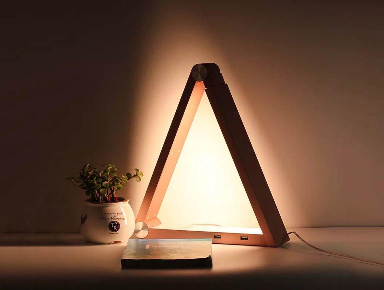 LED Triangle Lamp