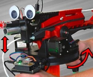 Auto-aiming NERF Blaster