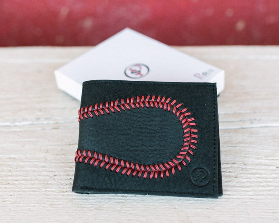Baseball Glove Leather Wallet