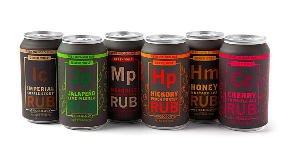 Beer-Infused Rubs Six-Pack