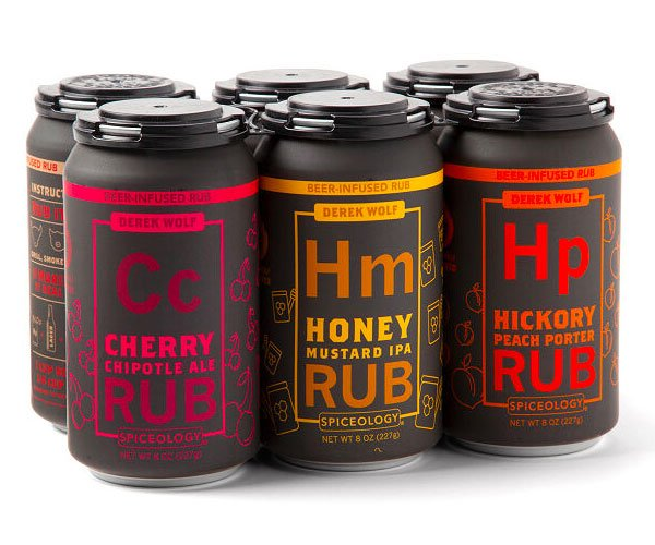 Beer-Infused Rubs Six-Pack