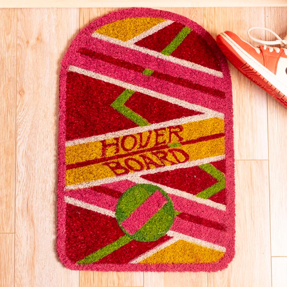 Back to the Future Hover Board Doormat