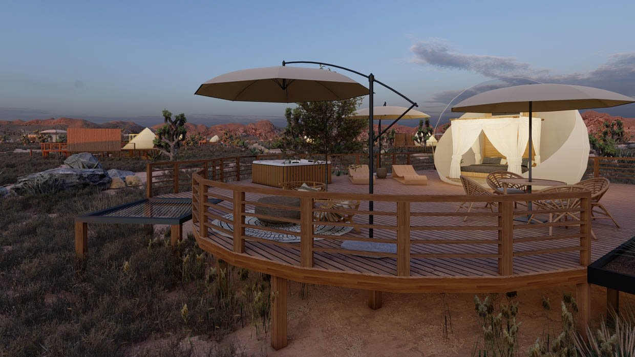Joshua Tree Bubble Hotels