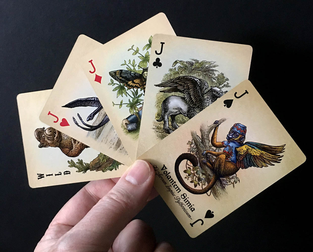 Unnatural History Playing Cards