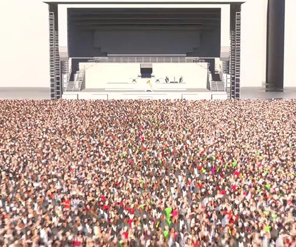 Concert Size Comparison