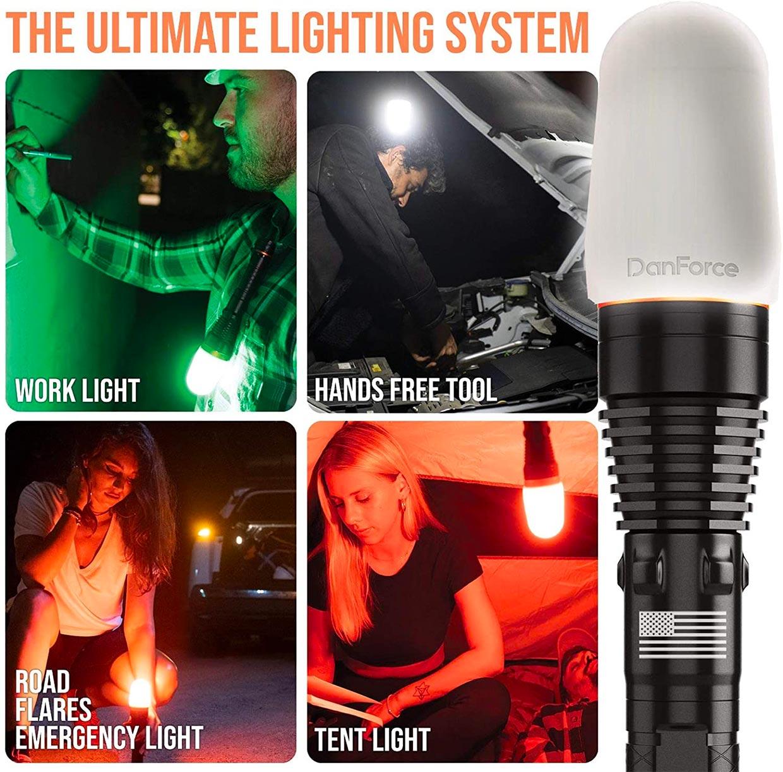 DanForce G1 Modular Flashlight