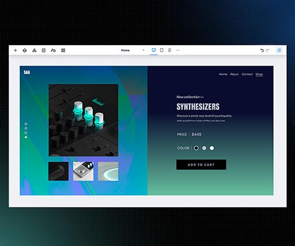 Editor X Responsive Website Builder
